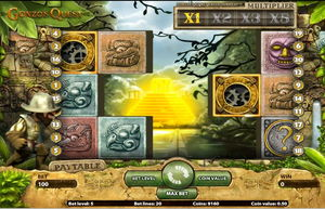 Gonzos Quest Screenshot - Feature