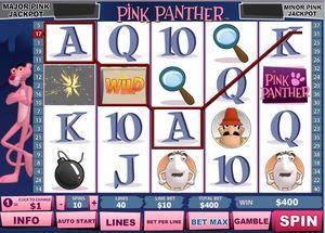 The Pink Panther Slot Screenshot 2