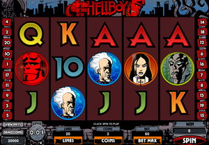 Hellboy Slot Screenshot