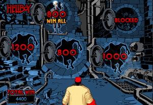 Hellboy Slot Bonus Round Screenshot