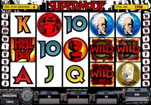 Hellboy Slot Supermode Screenshot